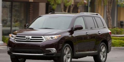 Toyota отзывает 7 тысяч внедорожников Highlander
