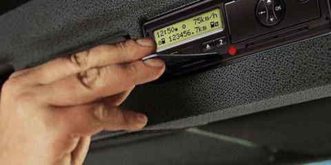 С 1 апреля водителей будут штрафовать за отсутствие тахографа