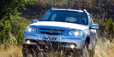 С начала года продано 12 290 Chevrolet Niva