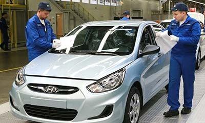 Производство российского завода Hyundai выросло в I квартале на 3%