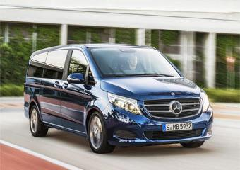 В России минивэн Mercedes V-класса будет стоить около 2,24 млн. рублей